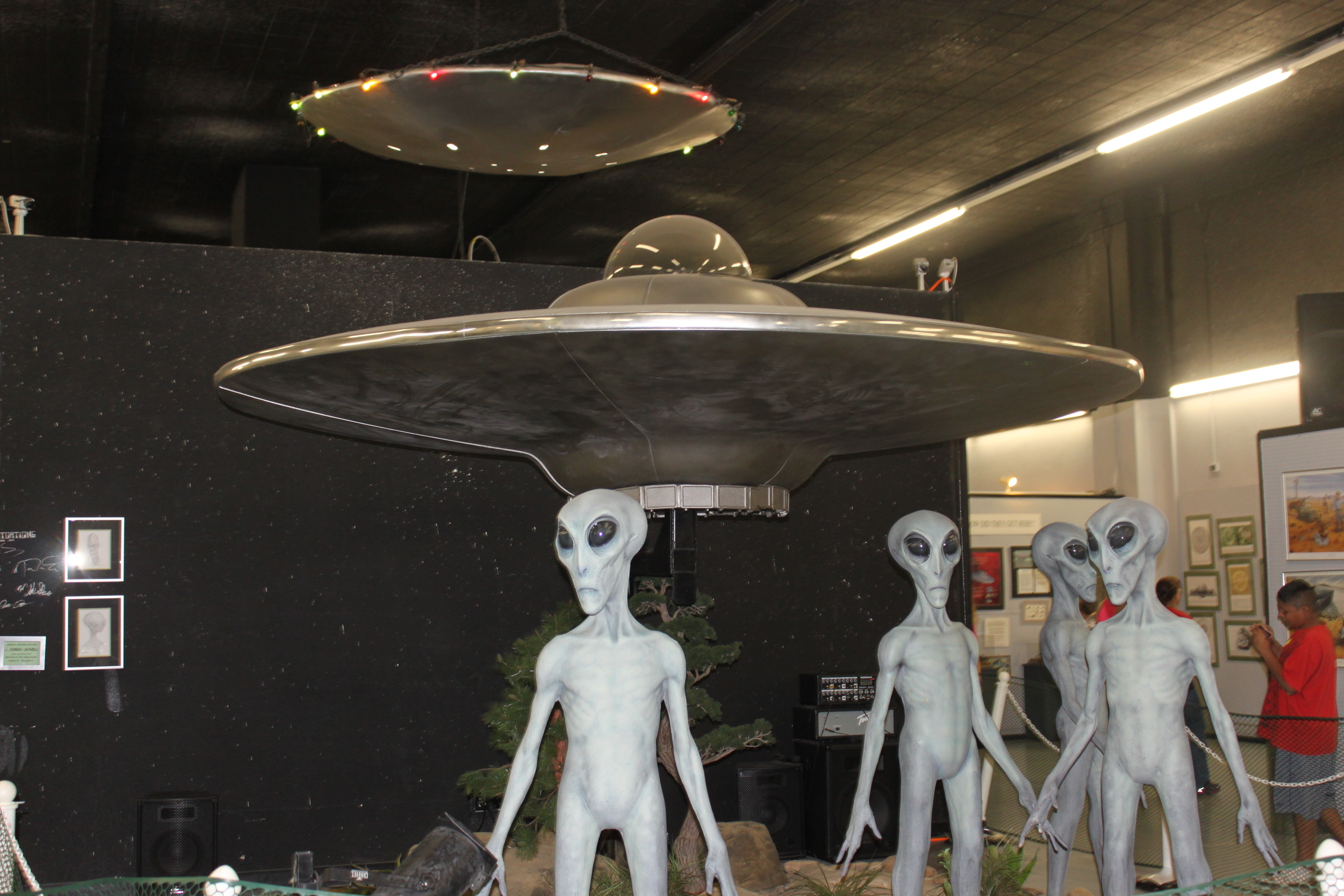 Weird Whereabouts: Alien Sighting in Roswell, New Mexico