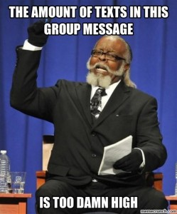 group message